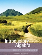 Introductory Algebra: Concepts with Applications