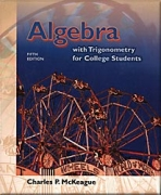 Algebra with Trigonometry for College Students (ATRIG5)
