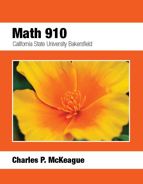 Bakersfield Math 910