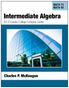 Compton Math 73/80: Intermediate Algebra