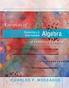 Essentials of Elementary & Intermediate Algebra: A Combined Course