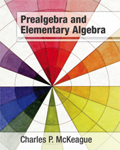 Prealgebra and Elementary Algebra: A Combined Course