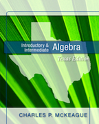 Introductory & Intermediate Algebra: Texas Edition