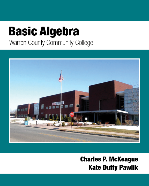 Basic Algebra: Warren County Community College