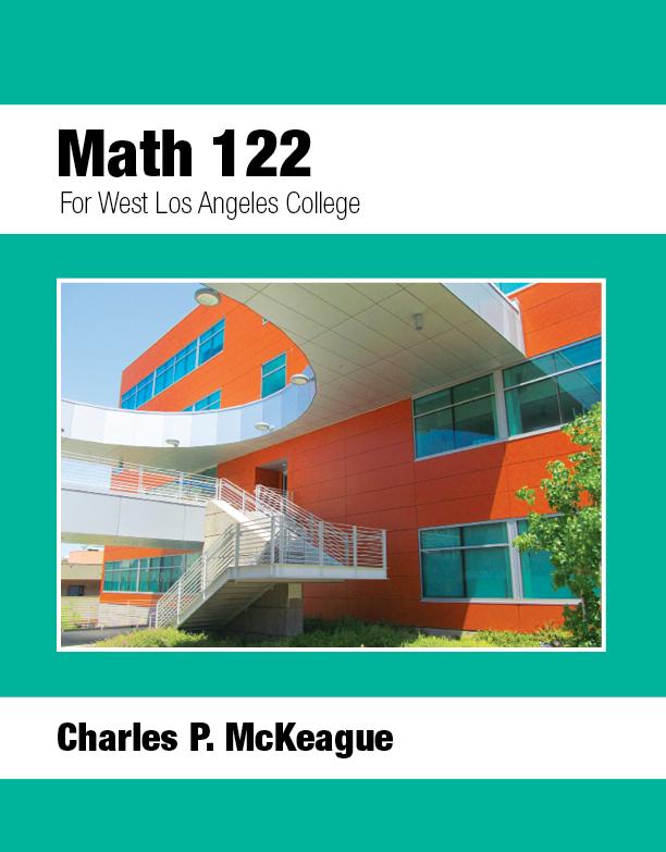 West LA College Math 122